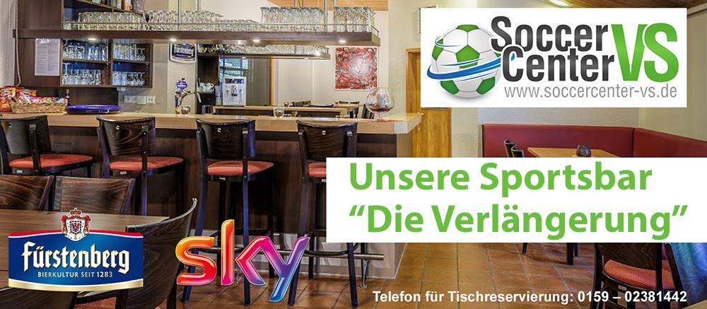 Infos zu Unsere SKY Sportsbar