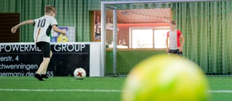 Infos zu Indoor Fußball
